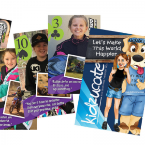 Kidzucate Take-A-Stand Against Bullying Playing Cards