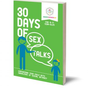 30 Days of Sex Talks Age 3 to 7