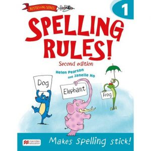 Spelling Rules! 2nd Edition Book 1